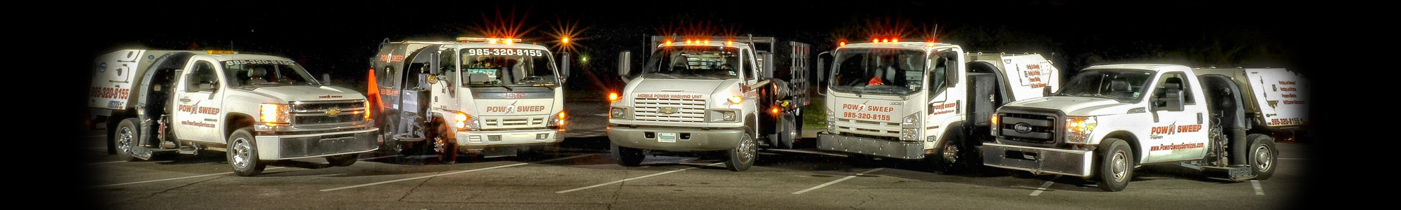 Power Sweeping Services Fleet